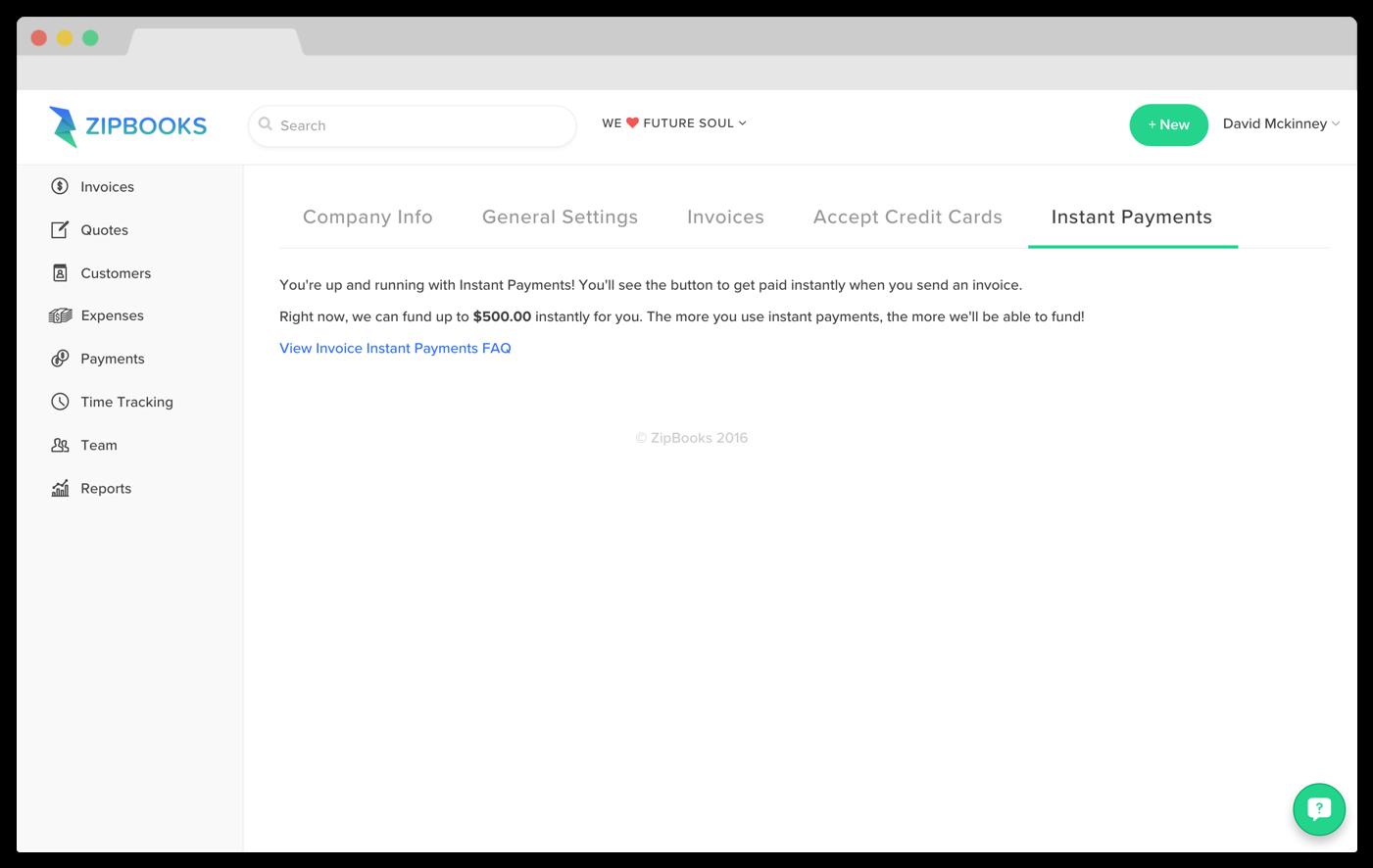 Invoice financing - ZipBooks