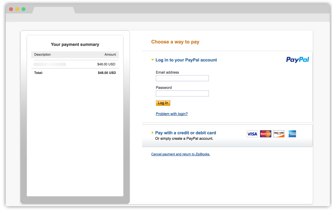 Does ZipBooks Support PayPal? | ZipBooks